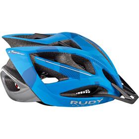 Rudy Project Airstorm MTB Casco, blue/titanium camo
